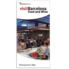 Barcelona Restaurants Map