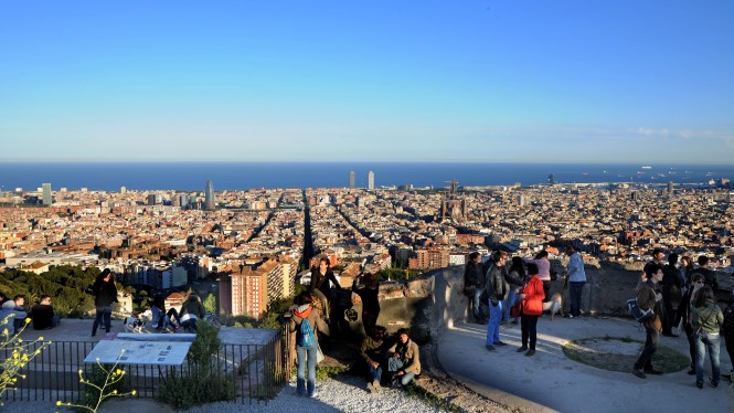 Viewpoints of Barcelona