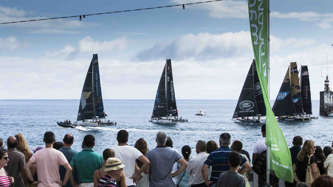 Extreme Sailing Series Madeira ©LloydImages
