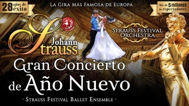 Gran concert d'any nou - Strauss Festival Orchestra and Ballet