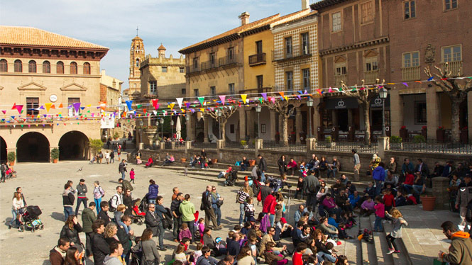 Children's activities at Poble Espanyol