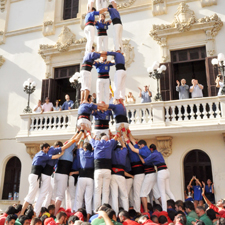 Castellers, the liveliest tradition