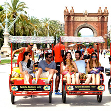 Funky Cycle Rickshaw City Tour