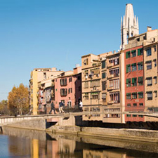 Figueres, Dalí y Girona