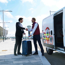 Luggage transfer service from, to the airport