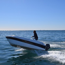 Licence-free boat rental