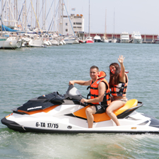 Jet Ski nel Port Olímpic