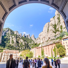 Montserrat, monastery and hiking
