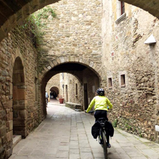 Enjoy a day's cycling near Barcelona