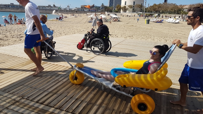 Barcelona and Accessibility A Wheelchair Users Dream