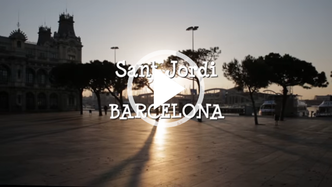 23rd April Sant Jordi Find out why you'll want to be in Barcelona