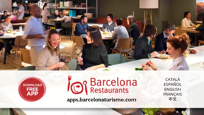 App de restaurants de Barcelone