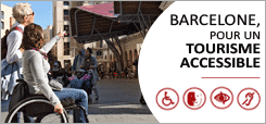Barcelone, tourisme accessible