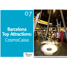 Barcelona Top Attractions 7 - Cosmocaixa