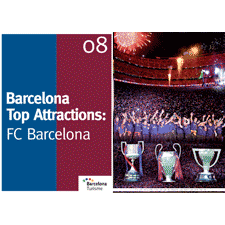 Barcelona Top Attractions 8 - FC Barcelona