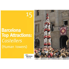 Barcelona Top Attractions 15 - Castellers (Human Towers)