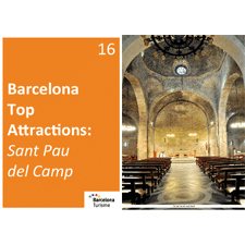 Barcelona Top Attractions 16 - Sant Pau del Camp