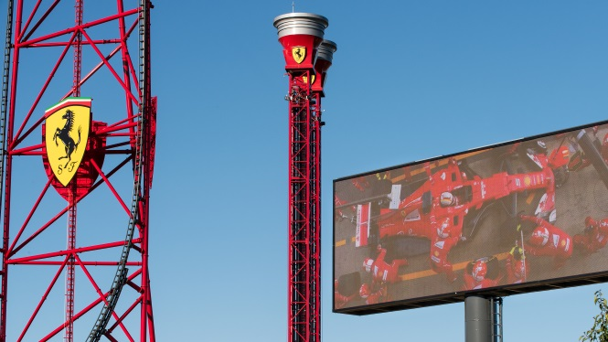 Ferrari Land a Port Aventura World Parks & Resorts