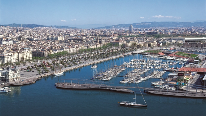 Route Barcelone Maritime