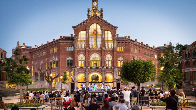 Summer concerts at Sant Pau Recinte Modernista