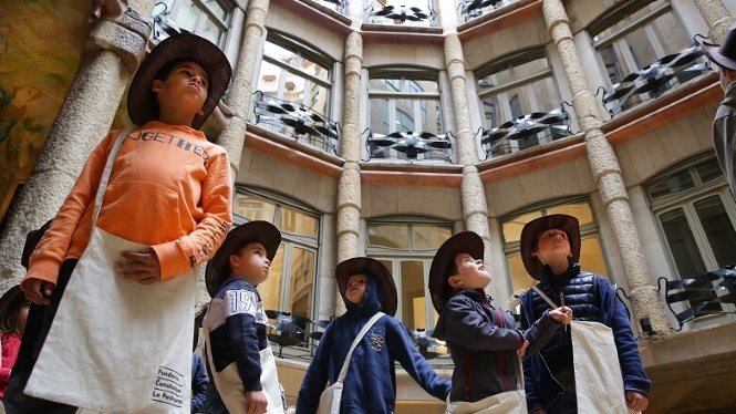 Family activities at La Pedrera