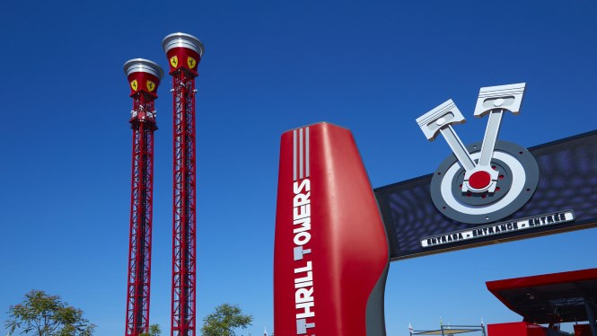 Ferrari Land at Port Aventura World Parks & Resorts