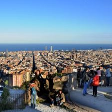 Viewpoints of Barcelona route