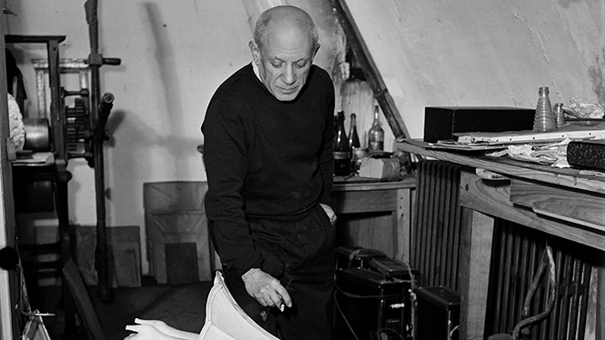 Picasso, the photographer's gaze.