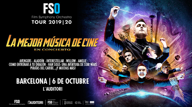 FSO TOUR 19/20: The best movie music in concert