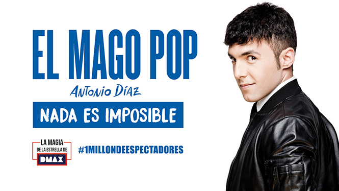 Nada es imposible (Nothing is impossible). Mago Pop