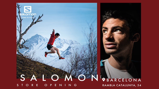 Opening of the Salomon Store Barcelona