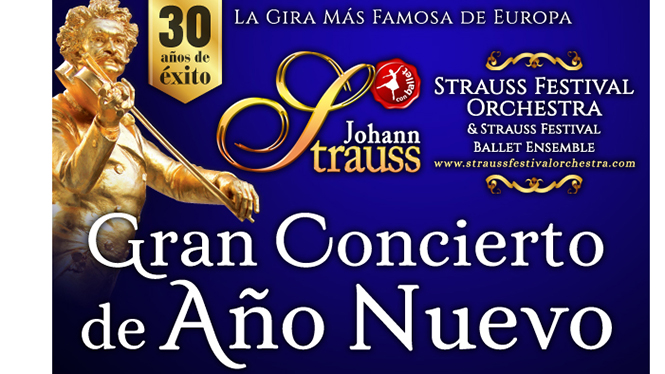 Johann Strauss : Grand Concert du Nouvel An