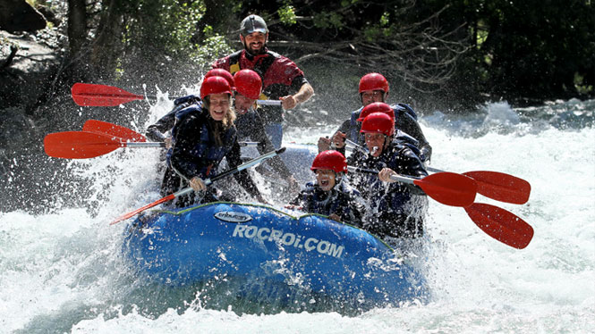 Feel the adrenaline of rafting