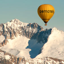 Hot-air ballooning Kon-Tiki