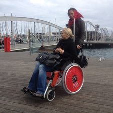 Wheelchair hire