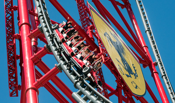 Adventure and attractions at two theme parks