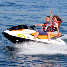 Jet Ski at Barcelona's beaches