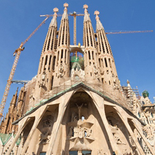 Sagrada Família and visit of the tower
